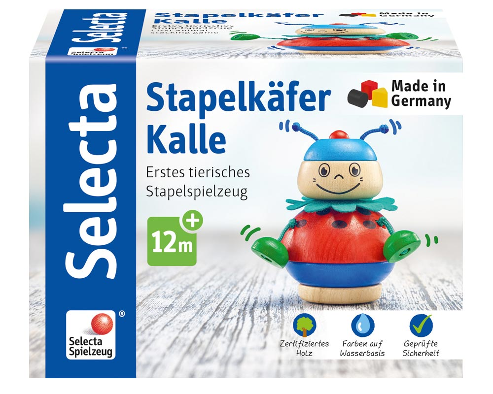 Verpackung Holz Stapelspiel Kaefer Kalle