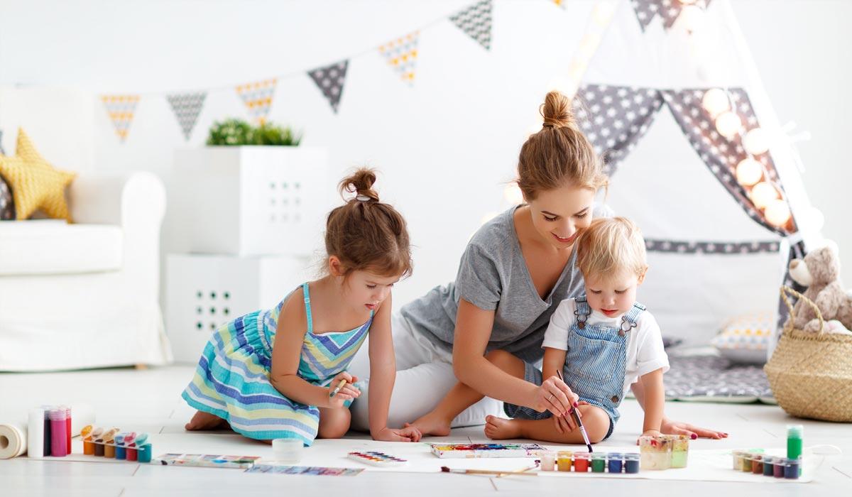 Kinderzimmer einrichten: vom Baby zum Kleinkind, worauf sollte man achten?