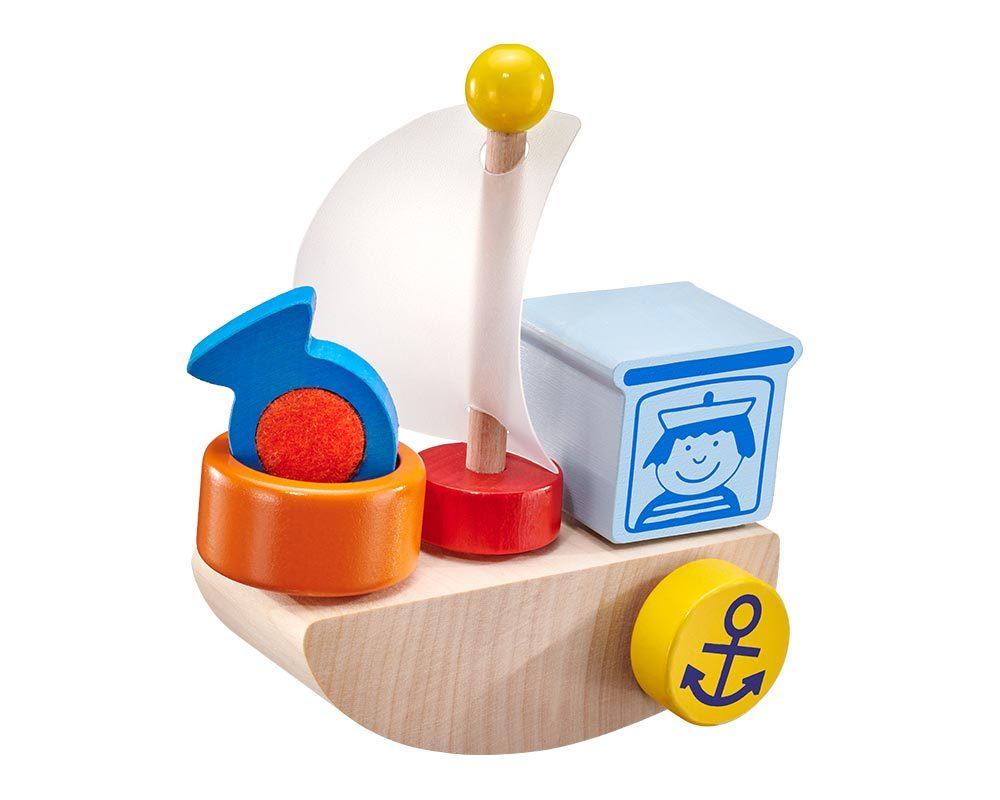 holz spielfigur Boot Klettspielzeug Fahrzeug