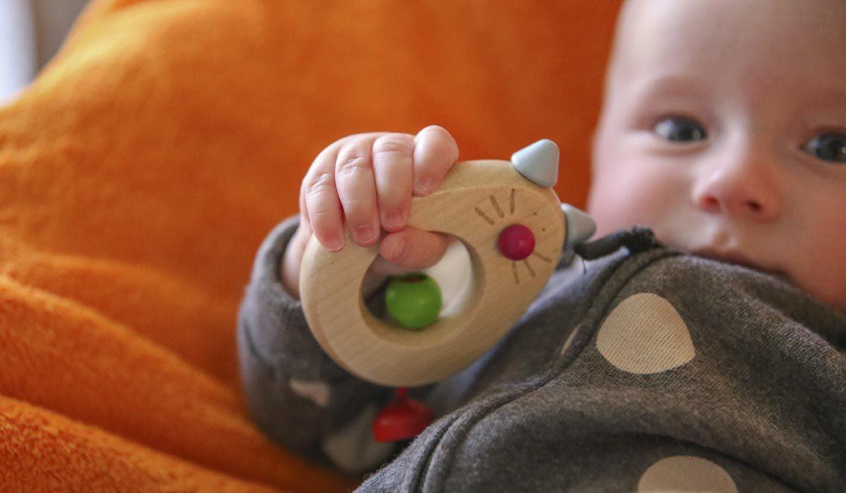 Baby Holzspielzeug Greifling