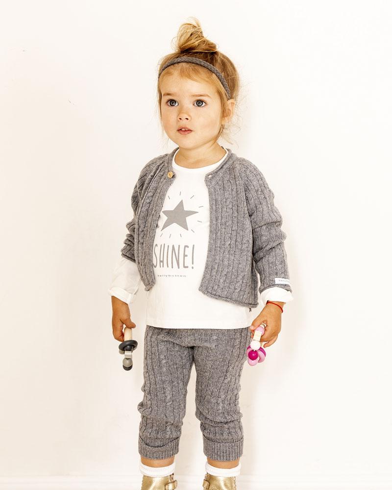 Kind mit Bellybutton Glücksgriff rosa von Selecta