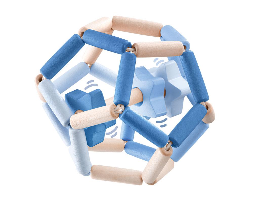Bellybutton Sternentanz blau Selecta Holzspielzeug