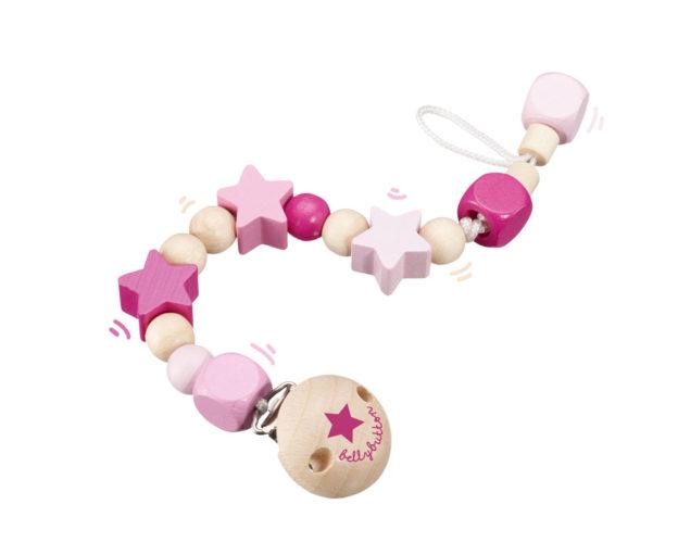 Sternchenglück rosa Holzspielzeug