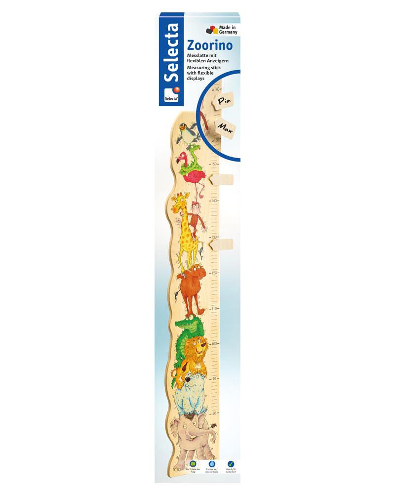 Zoorino Messlatte Holzspielzeug Packshot