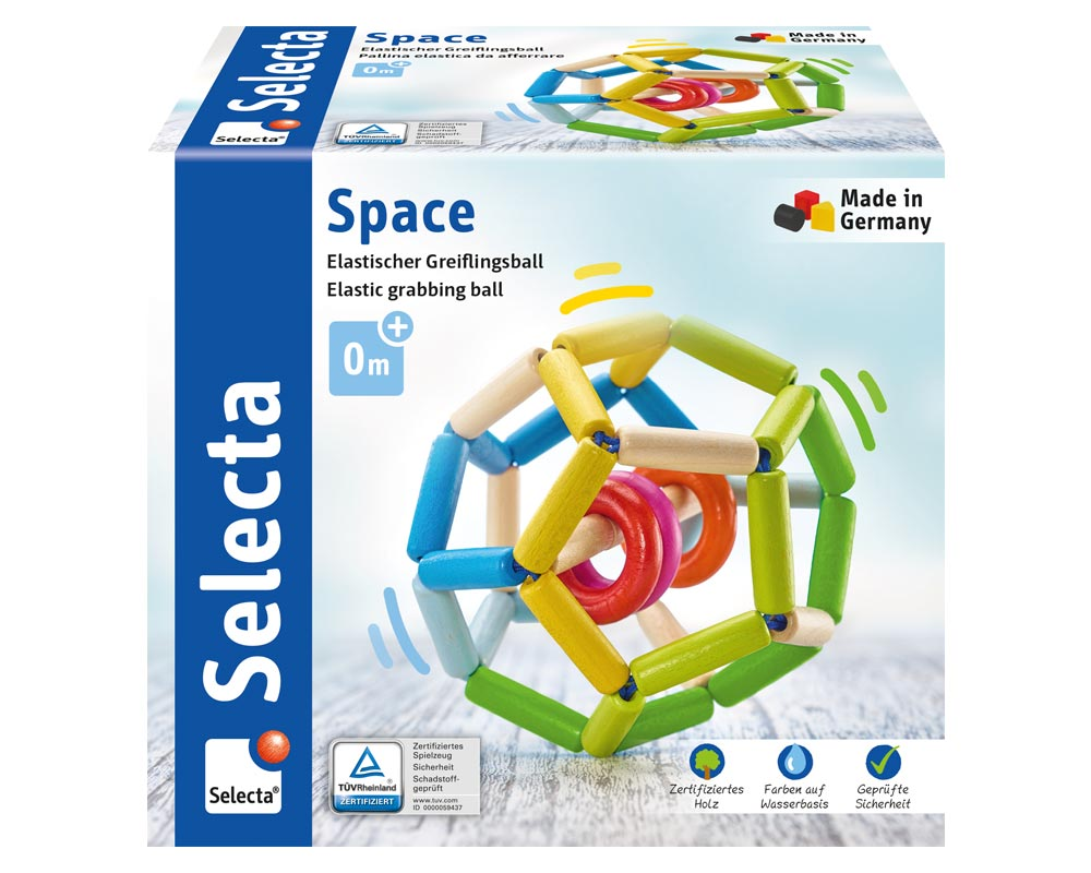 Space Holz Spielzeug Packshot