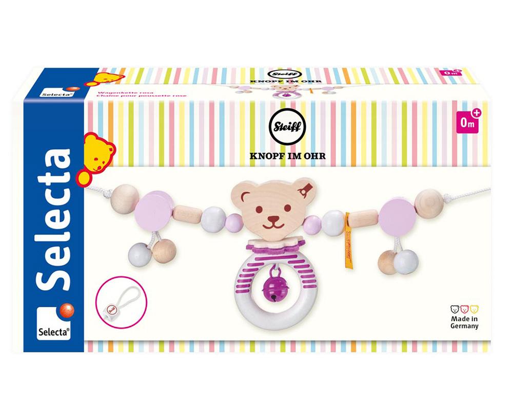 Steiff Wagenkette rosa Packshot