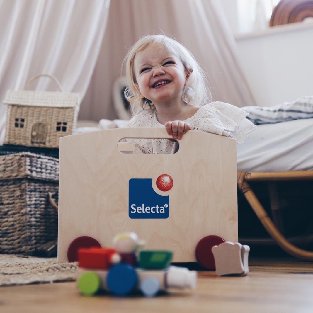 Kindespielzeug: Was macht gutes Spielzeug aus: Picknick und Obstalat von Selecta®