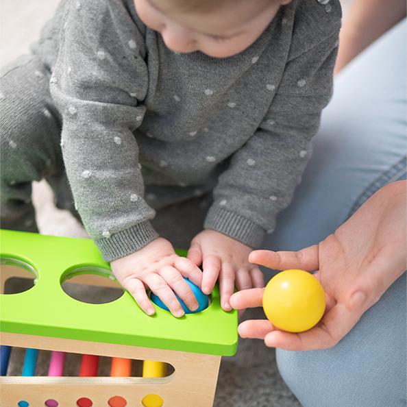 Lieblings-Holzspielzeug für Einjährige - und darüber hinaus Sortierrolle Selecta Stories franzisaidwhat